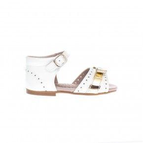 Sandaaltje wit goud - 3129AA