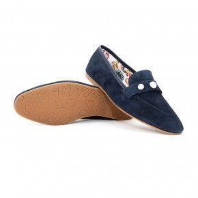 Donkerblauwe loafer - 4414