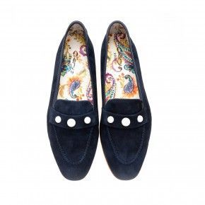 Donkerblauwe loafer - 4414